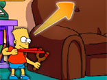 Simpsons Slingshot Game