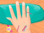 Baby Seven Nail Salon Game